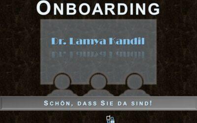 Frau Dr. Lamya Kandil stellt sich vor: